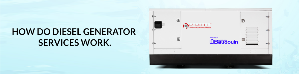 How Do Diesel Generator Rental Services Work? Perfect House